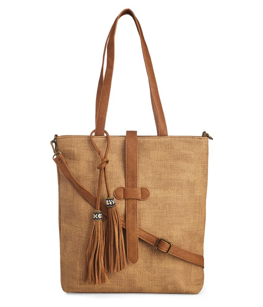 Vero Couture Brown P.U. Sling Bag