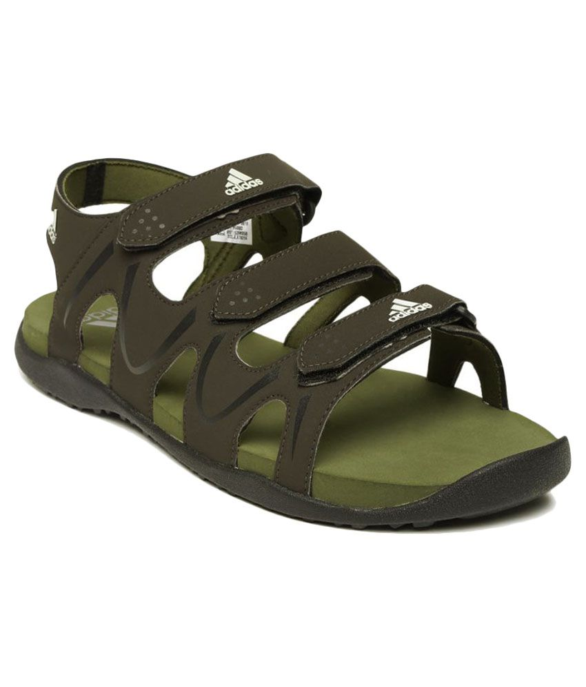 66e4423ee3c2 Adidas Brown Floater Sandals - Buy Adidas Brown Floater Sandals Online at  Best Prices in India on Snapdeal