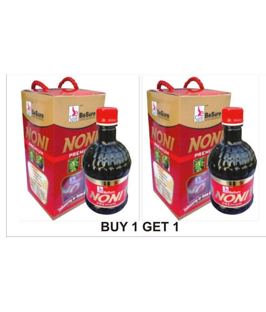 BeSure Noni Juice Fruit Juice 500 ml Pack of 2
