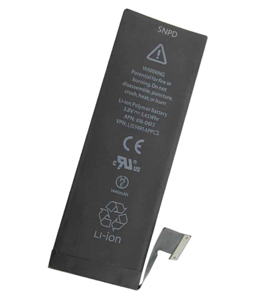 Apple iPhone 5 1440 mAh Battery by SNPD - Batteries Online ...