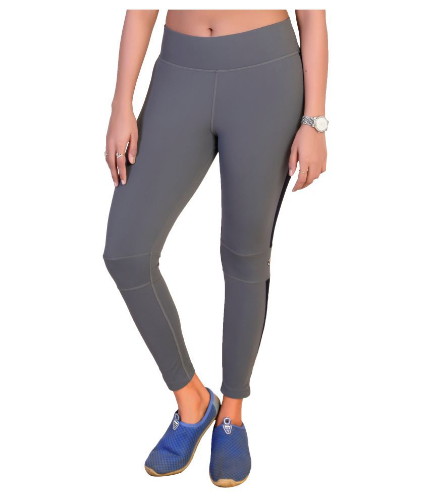 Restless Grey Lycra Leggings