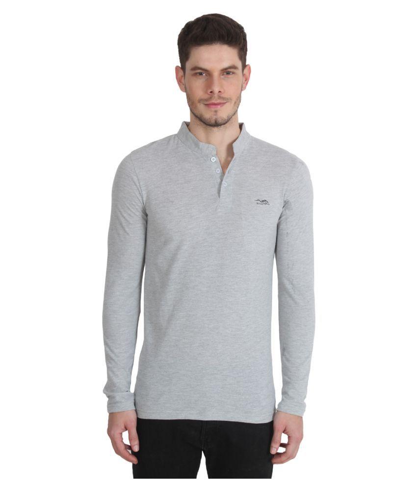 Bonzer Grey Henley T-Shirt