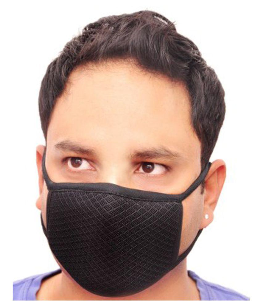 Multicolour Nose Face Mouth Mask-6 Dust Pc Cotton Anti Pollution