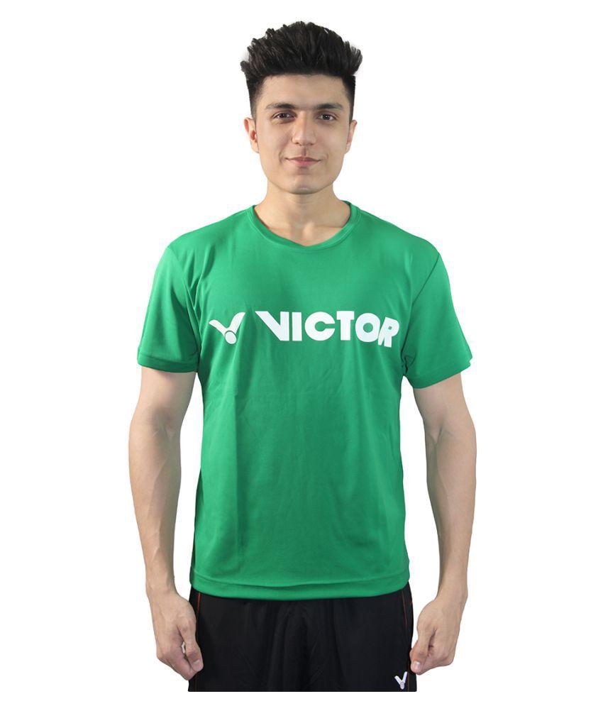 Victor Green Cotton T Shirt