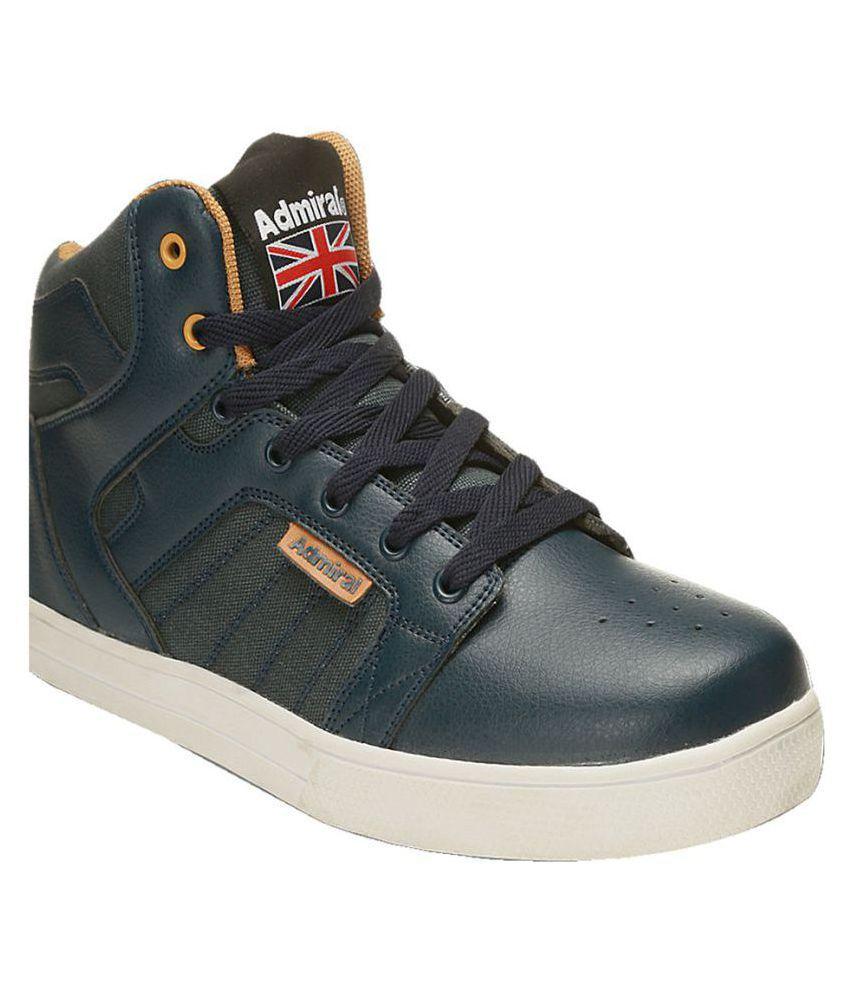 Admiral Men's Thunder Blue Running Shoes