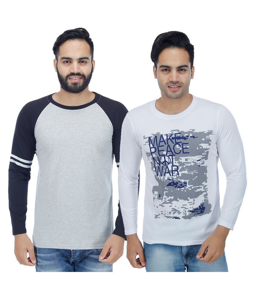 Christy World Multi Round T-Shirt Pack of 2
