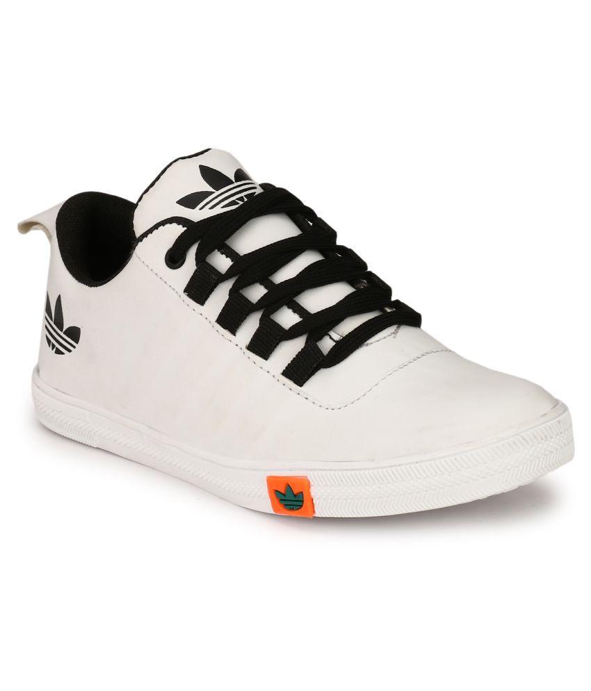 White Casual Shoes Flipkart