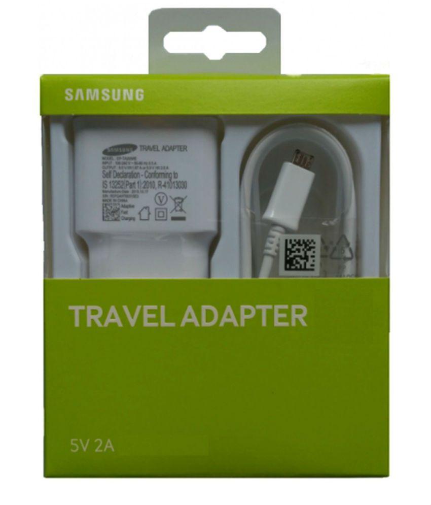 SAMSUNG Travel Adapter EP-TA13IWEUGIN White Battery Charger  (White)