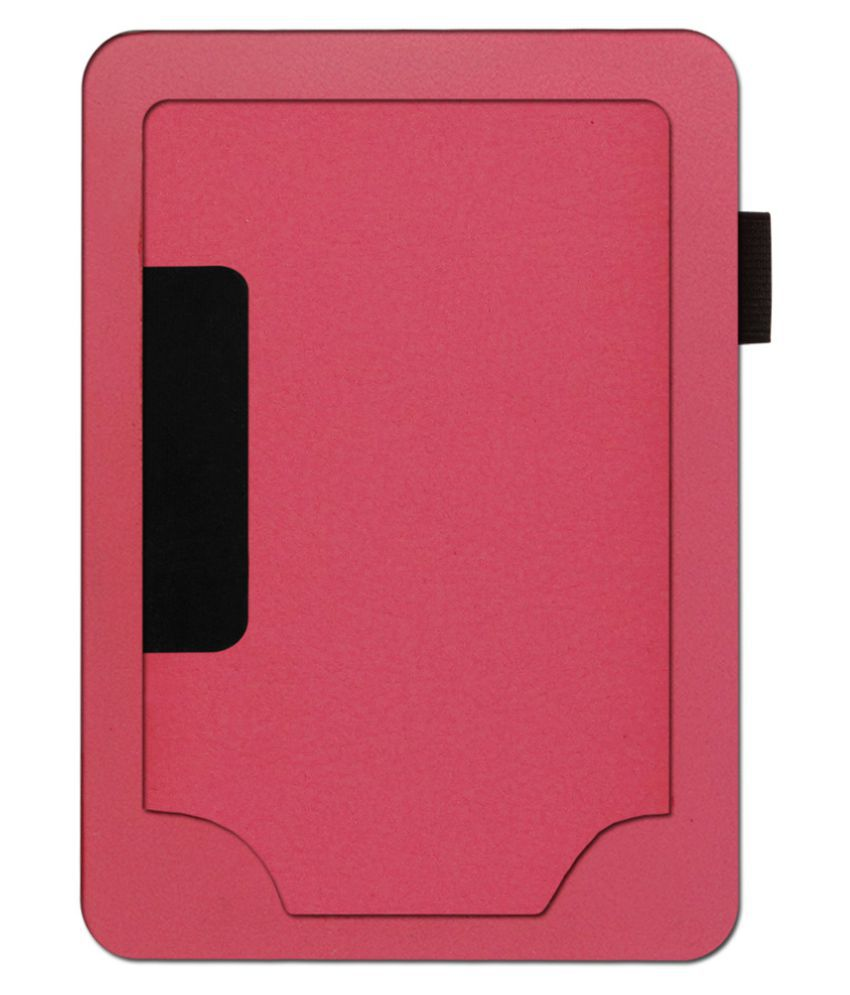 Kindle Paperwhite 3rd Gen 2015 Plain Back Cover By ACM Pink