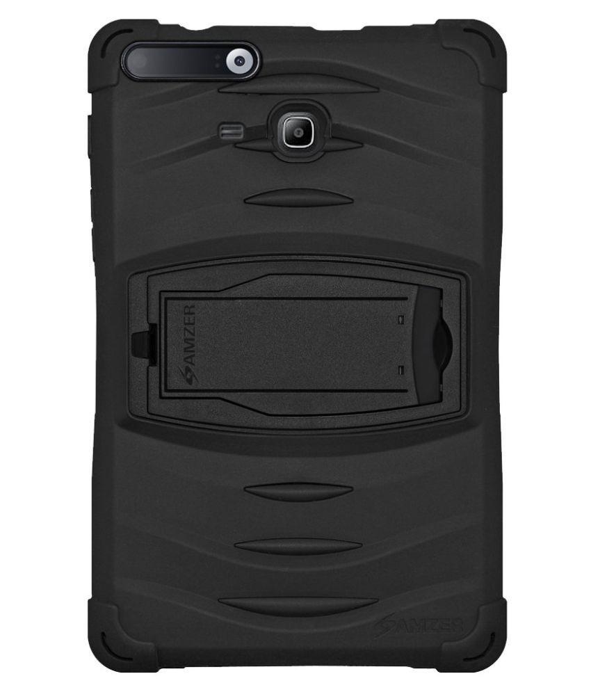 Samsung Galaxy Tab Iris Plain Back Cover By Amzer Black