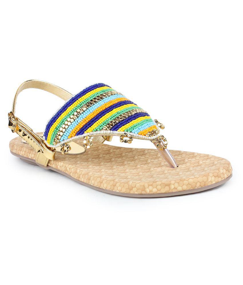 Tamasha Multi Color Flat Heels