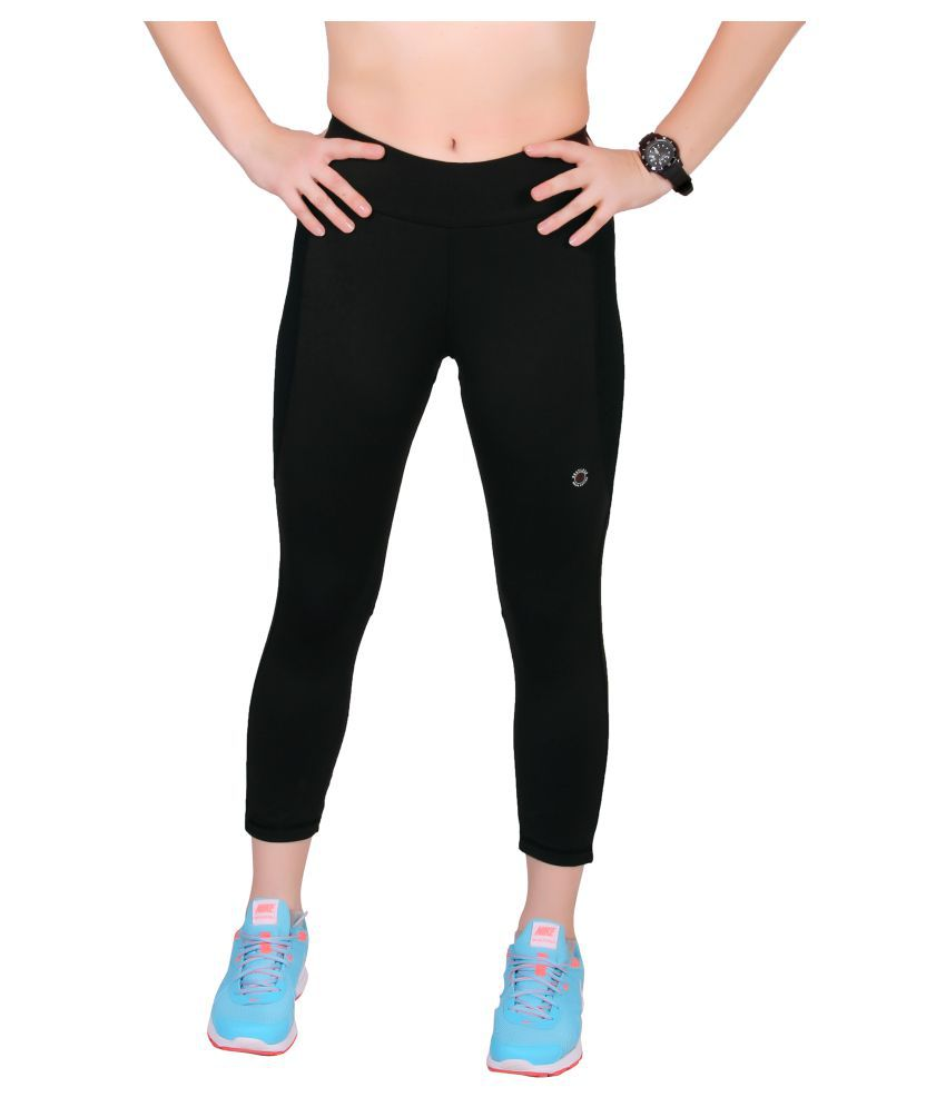 Restless Black Active Wear