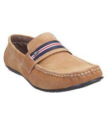 Catbird Tan Loafers