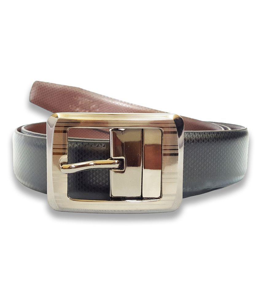 Adamstone Black Leather Formal Belts