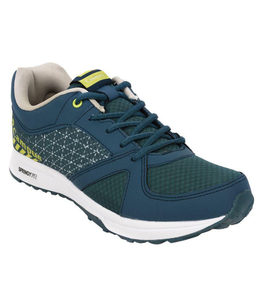 Campus 3G-8240 Green Running Shoes