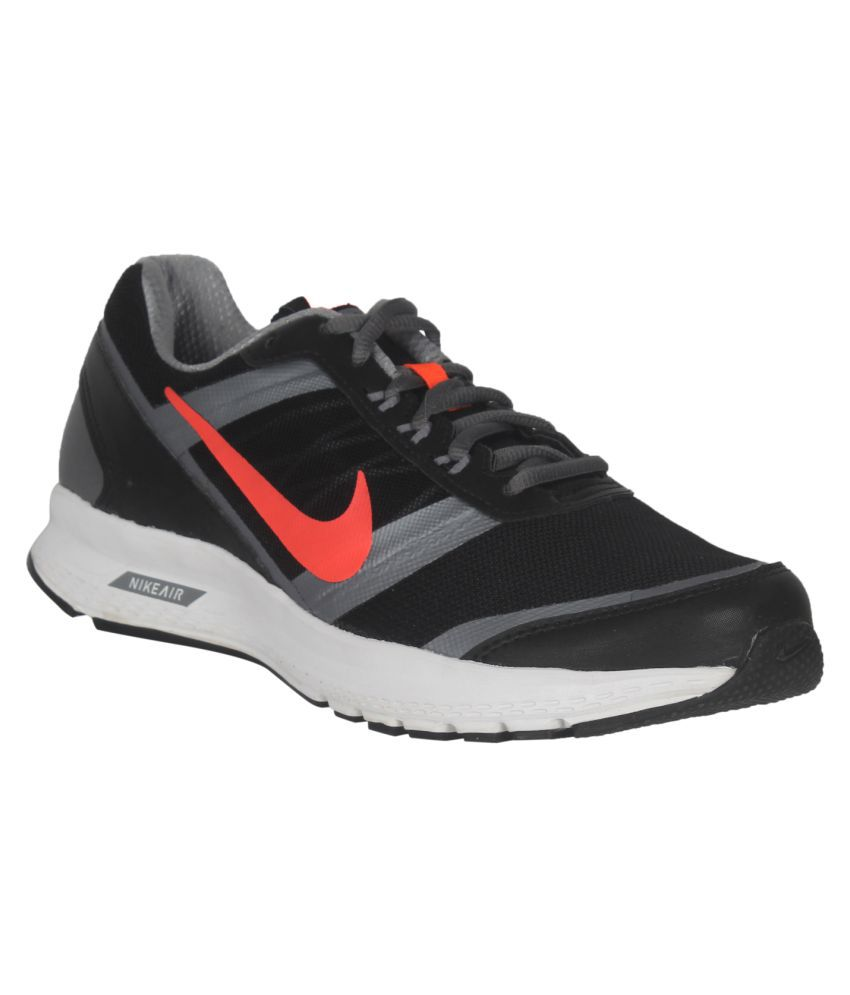 15ac91f71275 Nike Air Relentless 5 MSL Black Running Shoes - Buy Nike Air Relentless 5  MSL Black Running Shoes Online at Best Prices in India on Snapdeal
