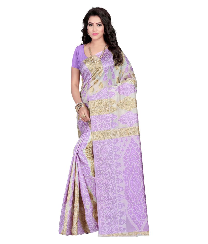 Luga Multicoloured Cotton Silk Saree