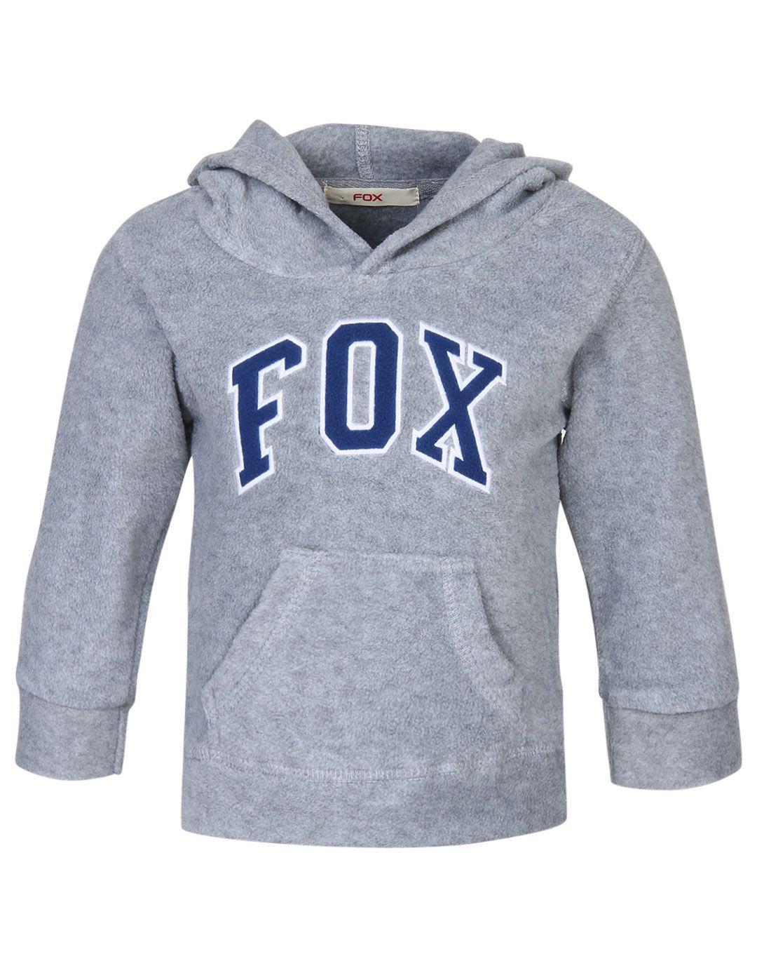 Fox Grey Sweatshirt for Girls