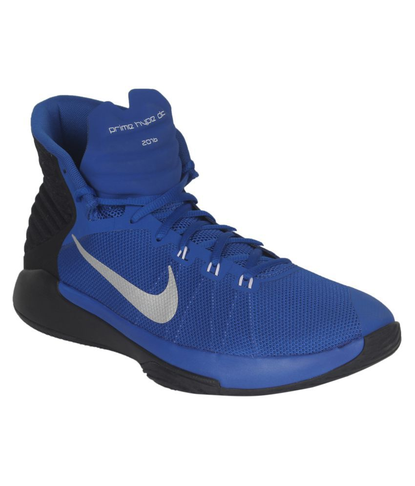 size 40 d2418 84804 Nike Prime Hype Df 2016 Blue Basketball Shoes - Buy Nike Prime Hype Df 2016  Blue Basketball Shoes Online at Best Prices in India on Snapdeal
