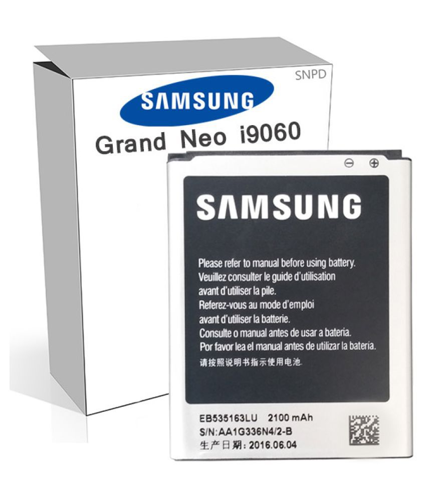Samsung Galaxy Grand Neo GT 2100 mAh Battery by SNPD