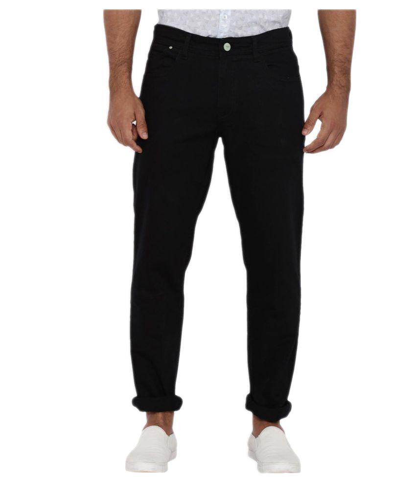 Colorplus Black Regular Fit Jeans