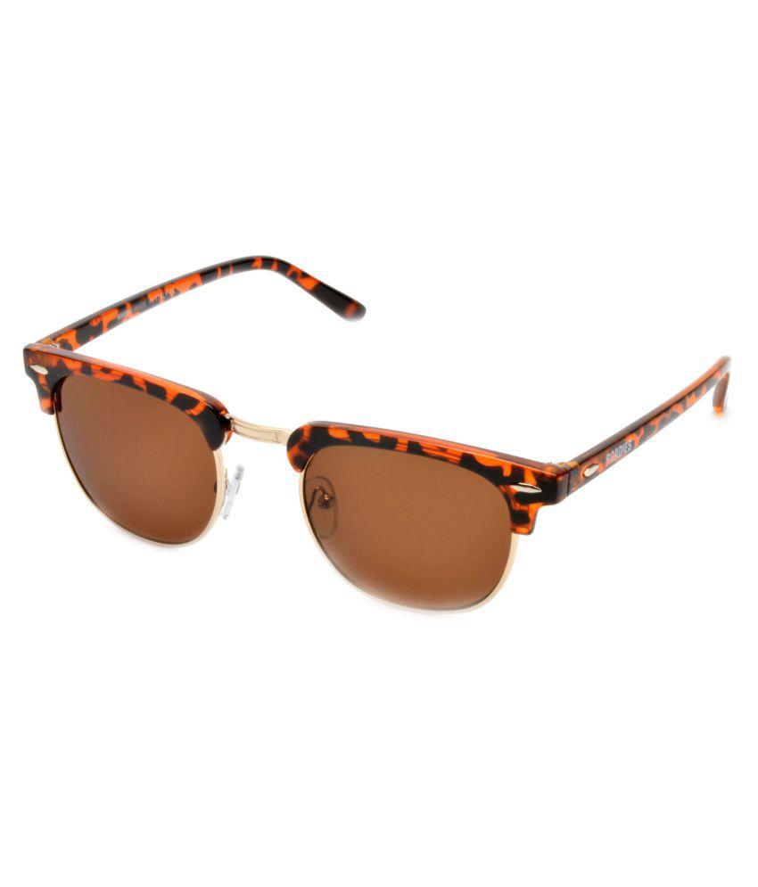 MTV Roadies Brown clubmaster Sunglasses ( RD-126-C4 )