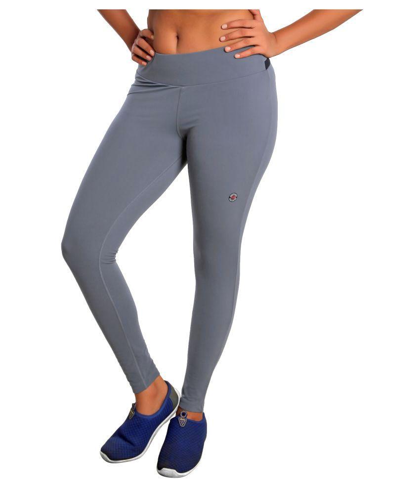 Restless Grey Lycra Bottomwear