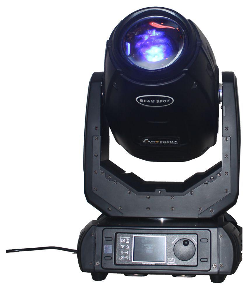 Anoralux 2 pcs 280W 10 R Beam Spot Wash Moving Light DJ Lights
