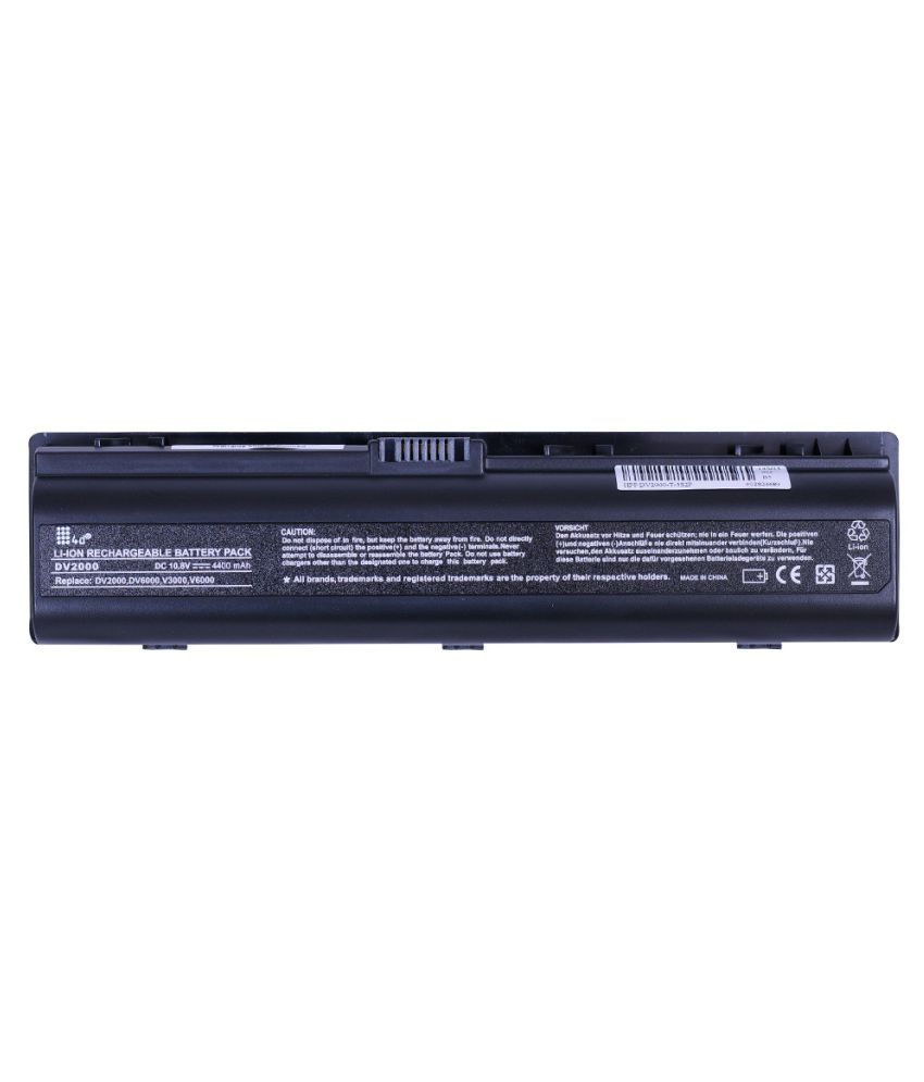 4d Laptop battery Compatible For HP DV2100 DV2200 DV2300 DV2400