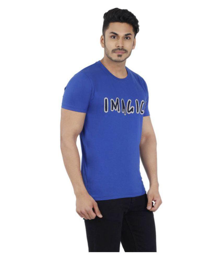 Ashley Blue Round T-Shirt