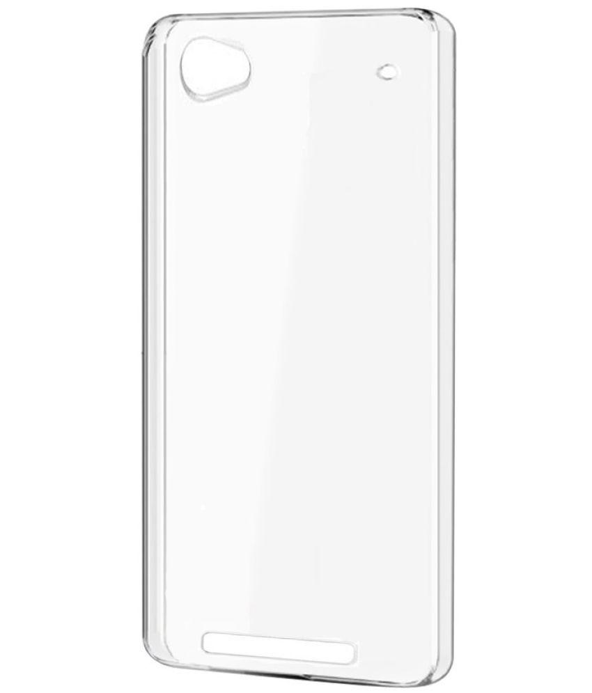 the best attitude 27ff4 f3f1d Micromax Vdeo 4 Q4251 Plain Cases Sai APH - Transparent