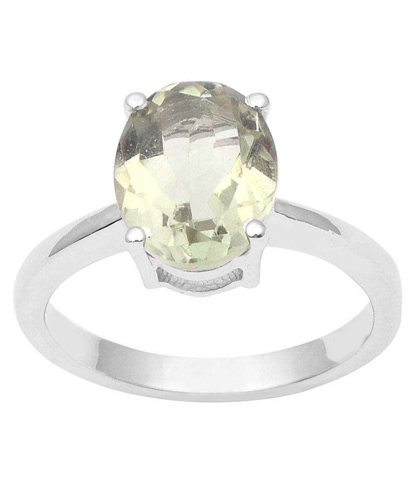 Shine Jewel 92.5 Silver Amethyst Ring