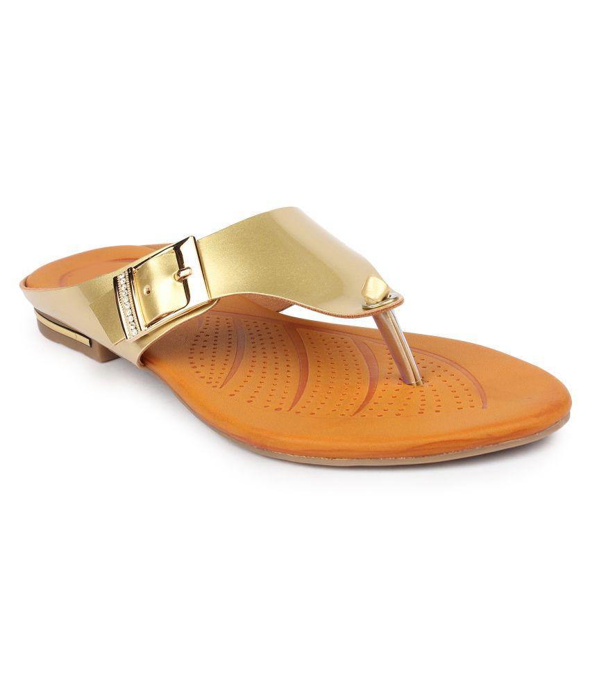 Tamasha Gold Flats