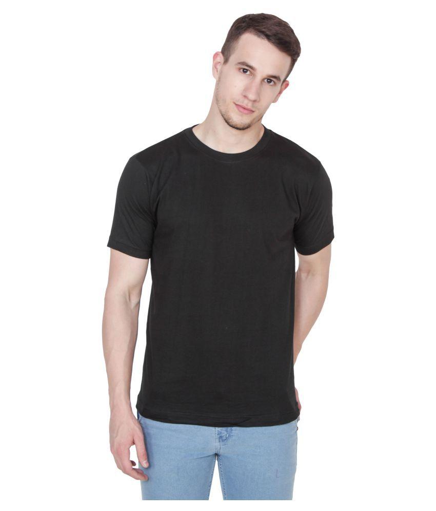 Xee Black Round T-Shirt