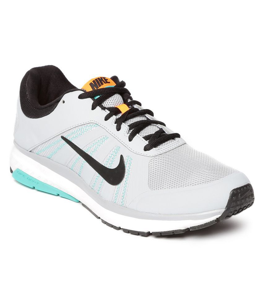 1426bd3f411 Nike Dart 12 MSL Gray Running Shoes - Buy Nike Dart 12 MSL Gray Running  Shoes Online at Best Prices in India on Snapdeal