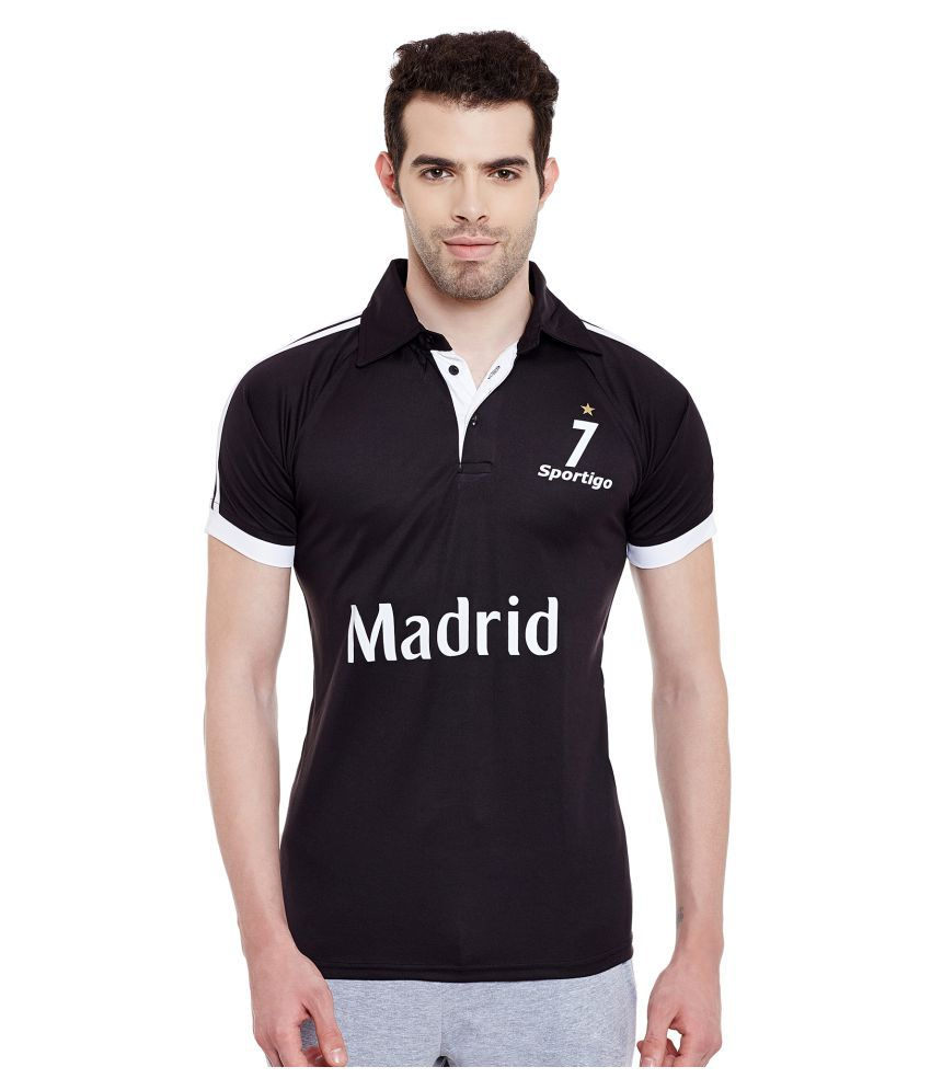 Sportigo Replica Real Madrid Jersey (Black)