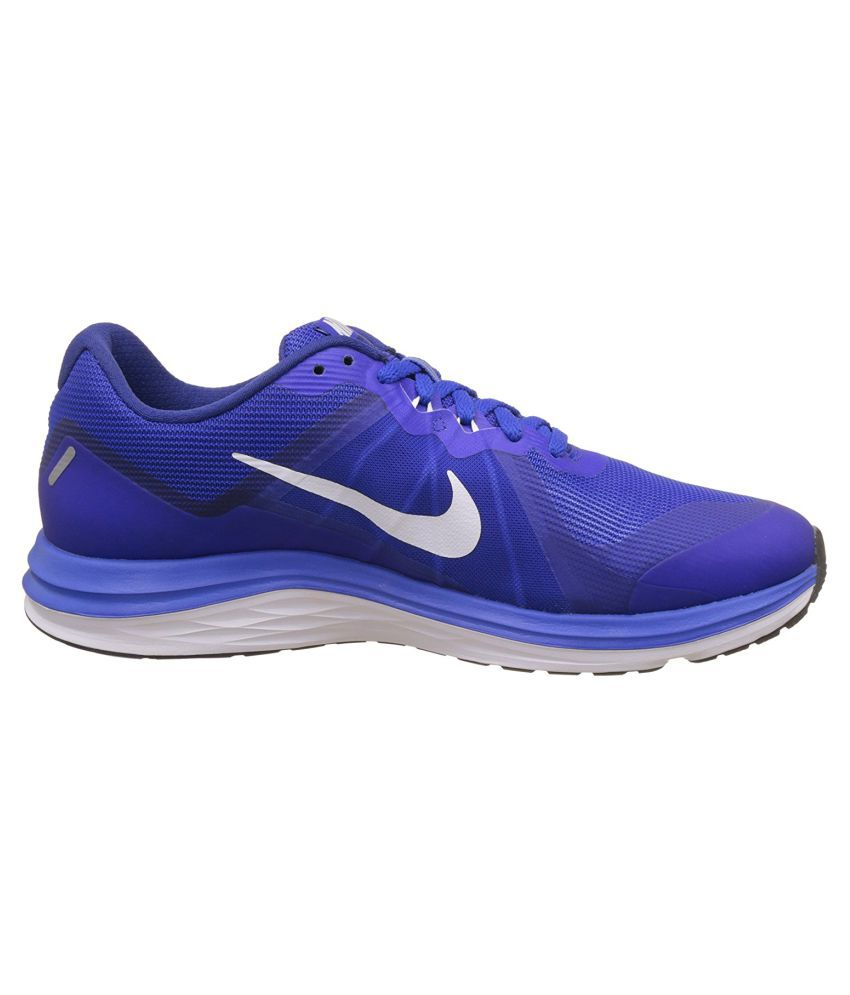 cheaper a56c3 f38fb ... Nike Dual Fusion X 2 Blue Running Shoes ...