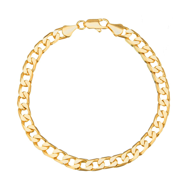 Shining Jewel Golden Bracelet