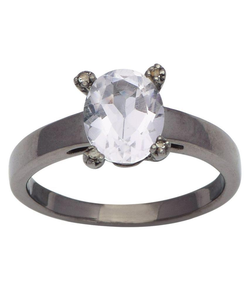 Shine Jewel 92.5 Silver Chalcedony Ring