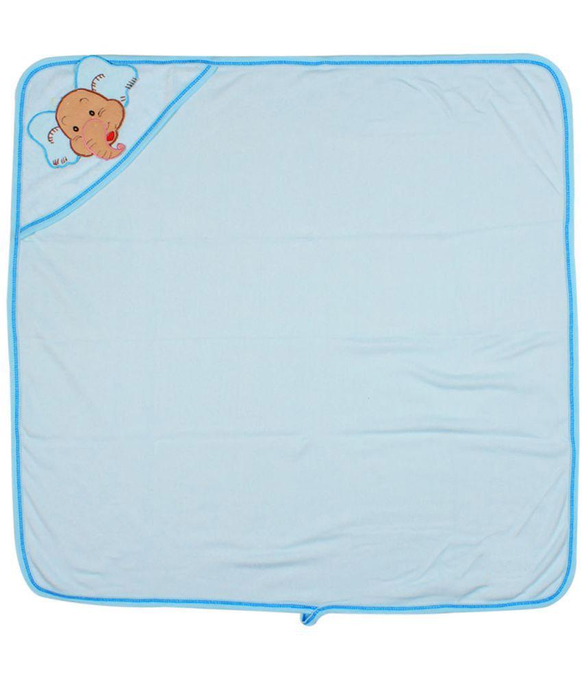 Ole Baby Blue Cotton Bath Towels Baby Blanket/Baby Swaddle/Baby Sleeping Bag