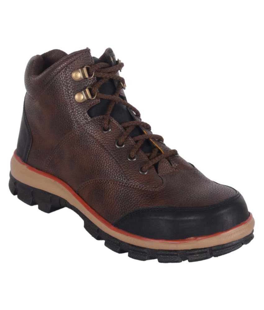 Shoeson Brown Casual Boot