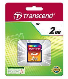 Transcend 2 GB Class 10 Memory Card
