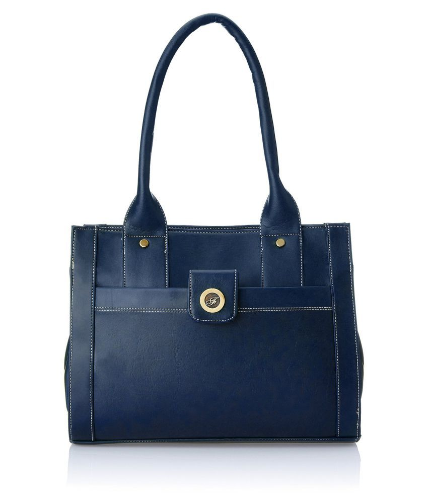Fostelo Blue P.U. Shoulder Bag