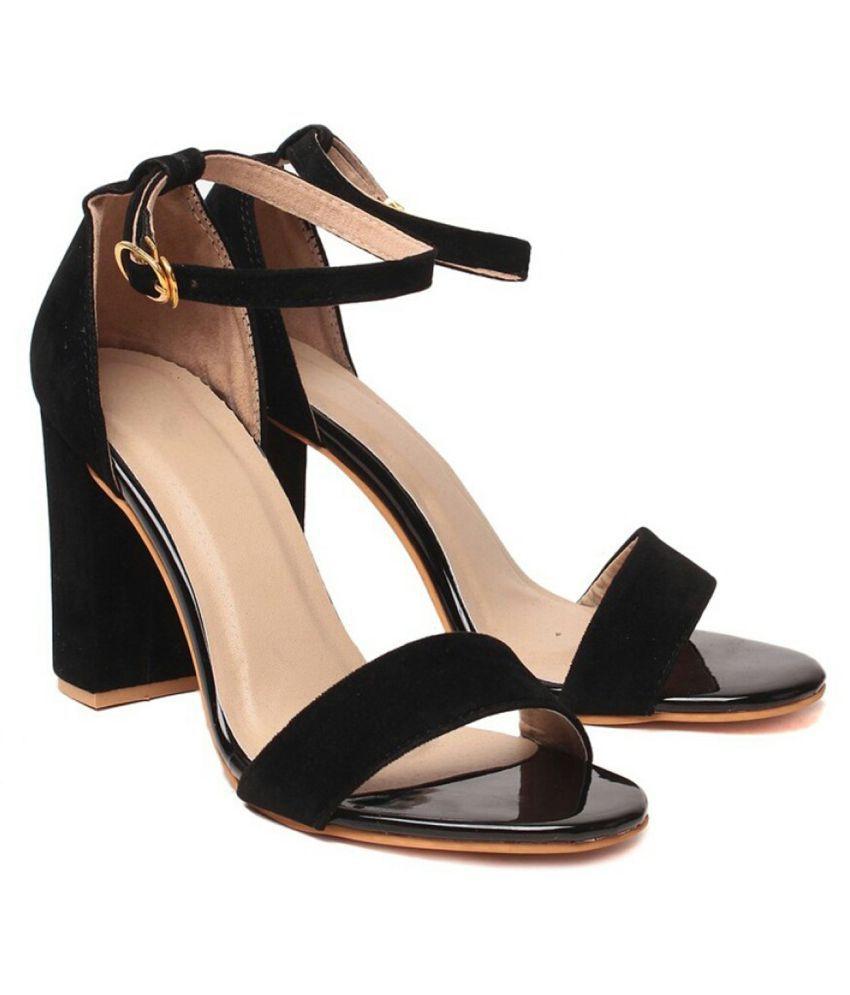 b72fcbf293c Studio 9 Black Block Heels