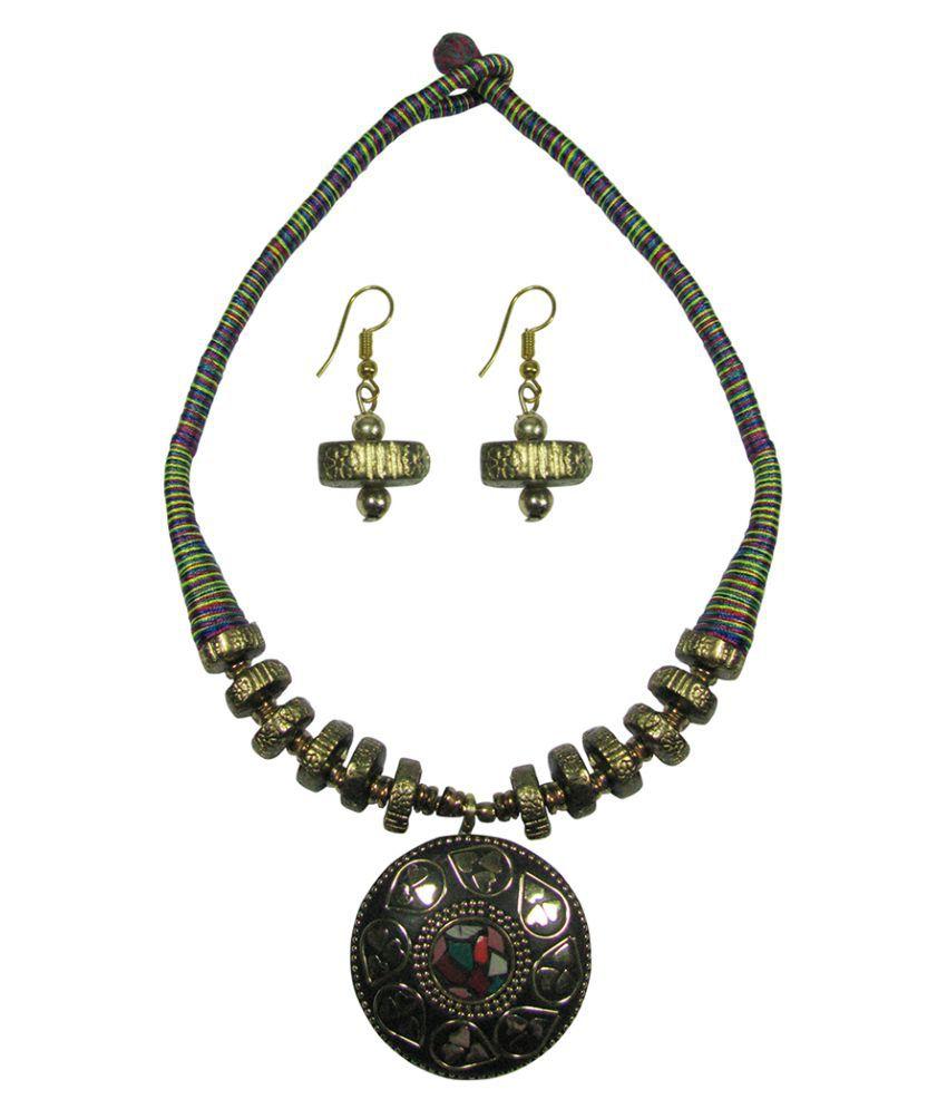 Collana Multicolour Funky Necklace Set