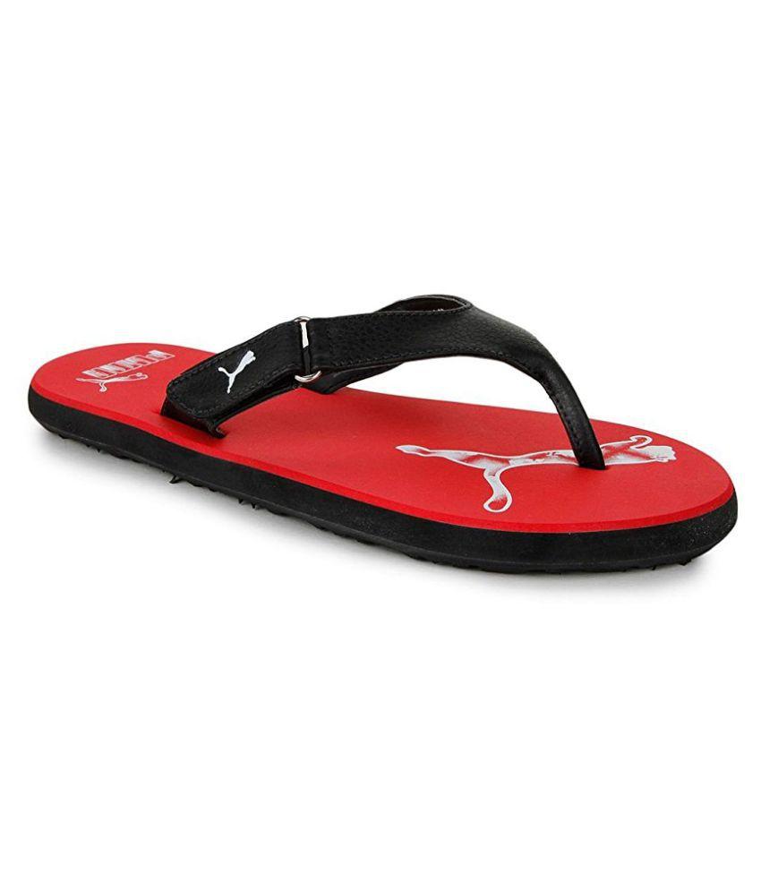 0e154803e Puma Men s Black Slide Flip flop Price in India- Buy Puma Men s Black Slide Flip  flop Online at Snapdeal