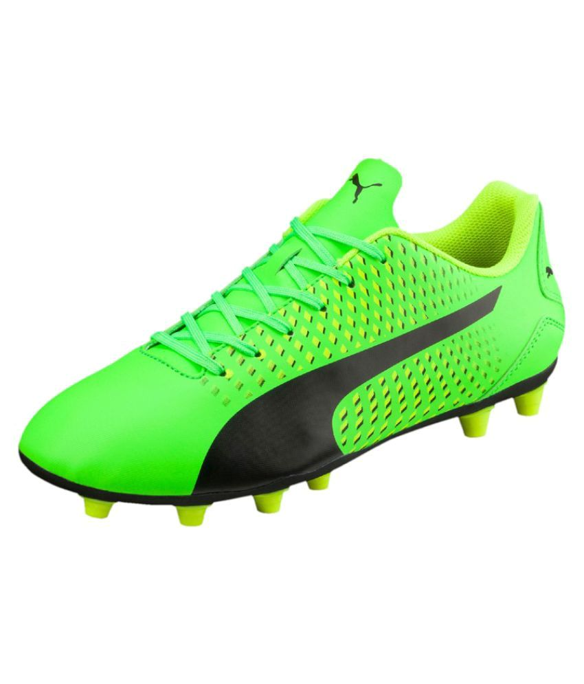 e218b7cad Puma Green Football Shoes - Buy Puma Green Football Shoes Online at Best  Prices in India on Snapdeal