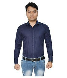 Red County Blue Formal Regular Fit Shirt