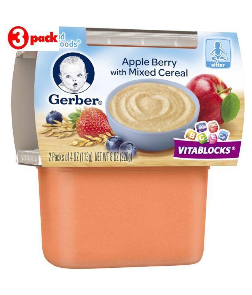 Mixed Berry Baby Food Gerber