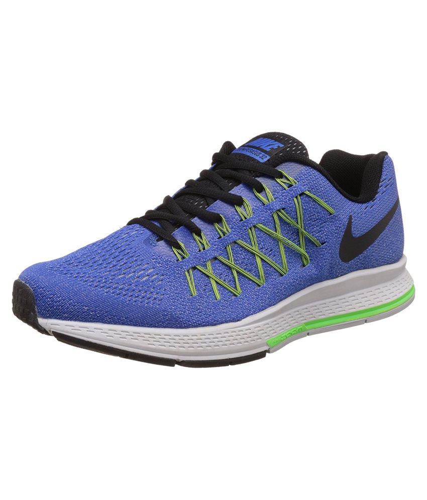 nouveau style 58e2f 0fa3d Nike Zoom Pegasus 32 Blue Running Shoes